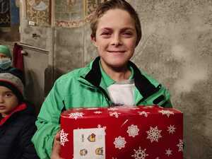 CHRISTMAS SHOEBOX APPEAL – T4U